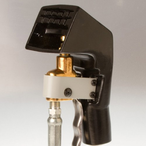 Edic 321ACH Black Powder Coated Auto Detailing & Upholstery Tool 300 psi Valve (With Window)