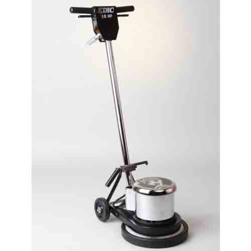 EDIC 15LS4-SS Saturn Floor Machine Stainless Steel FREE 7 YR Warranty FREE Shipping 175 RPM 15in Diameter 1.5HP
