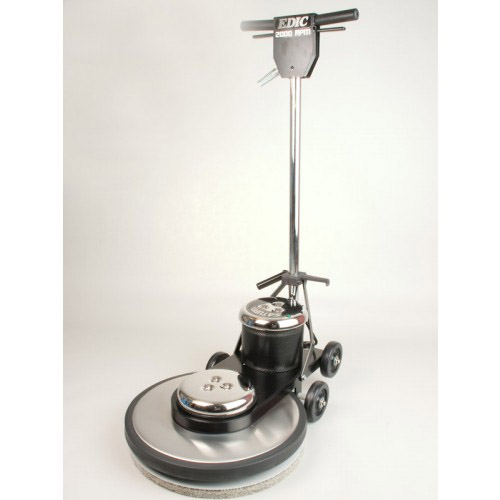 EDIC 20HS1500-SS Saturn Stainless Steel Burnisher FREE 7 Yr Warranty FREE Shipping 1500 RPM, 20in Diameter