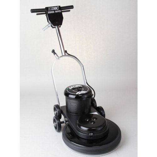 EDIC 17HS2000F-BK Saturn Floor Burnisher FREE Shipping 2000 RPM 17in Diameter 1.5 HP 84 LBS 15 Amps