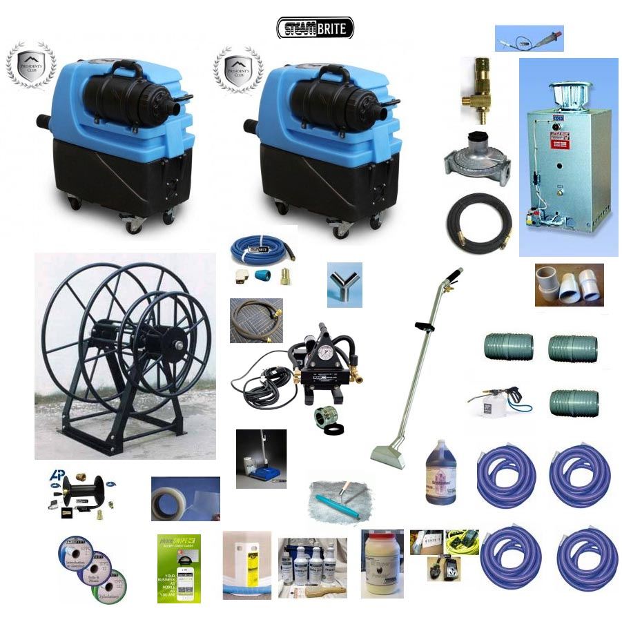 Electric Truckmount Little Giant Extreme Starter Package Bundle 7300-S [20131228]