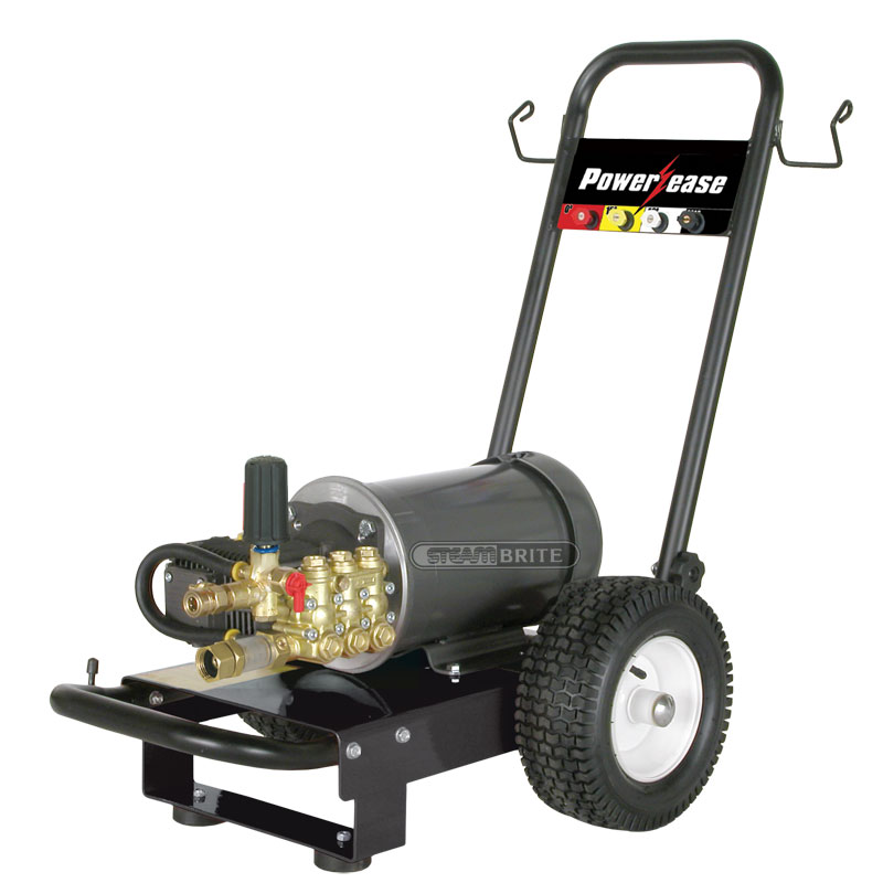 BE Pressure P152EC PowerEase 2 Hp 1500 psi Pressure Washer Tile Cleaning Pump on Cart