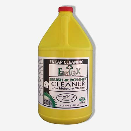 Pros Choice 6425C: Brush & Bonnet - 4/1Gal Case Encapsulation Cleaner