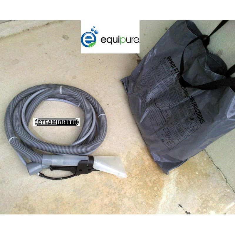 Equipure 20131328 Standard Upholstery and Stair Tool with Hose set and Storage Bag