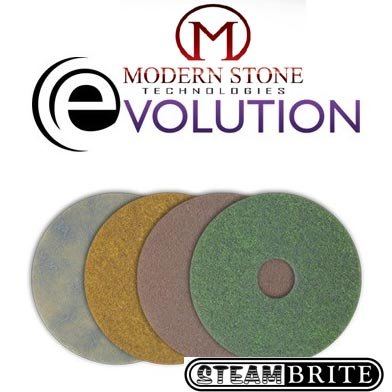Modern Stone Evolution Honing 4 Pad 17 Inch Combo Package