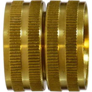 3/4 FGHX Female Garden Hose Swivel X 3/4 FGHX Female Garden Hose Brass Coupling Adapter [8.705-035.0] 30011  30-011
