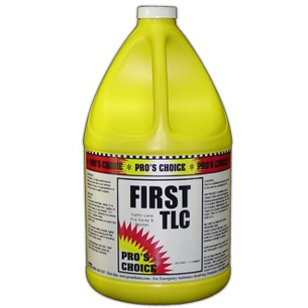 Pros Choice C1002 First TLC Traffic Lane Cleaner - 1 Gallon