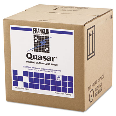 Franklin Cleaning FKLF136025 Quasar High Solids Floor Finish 5gal Box