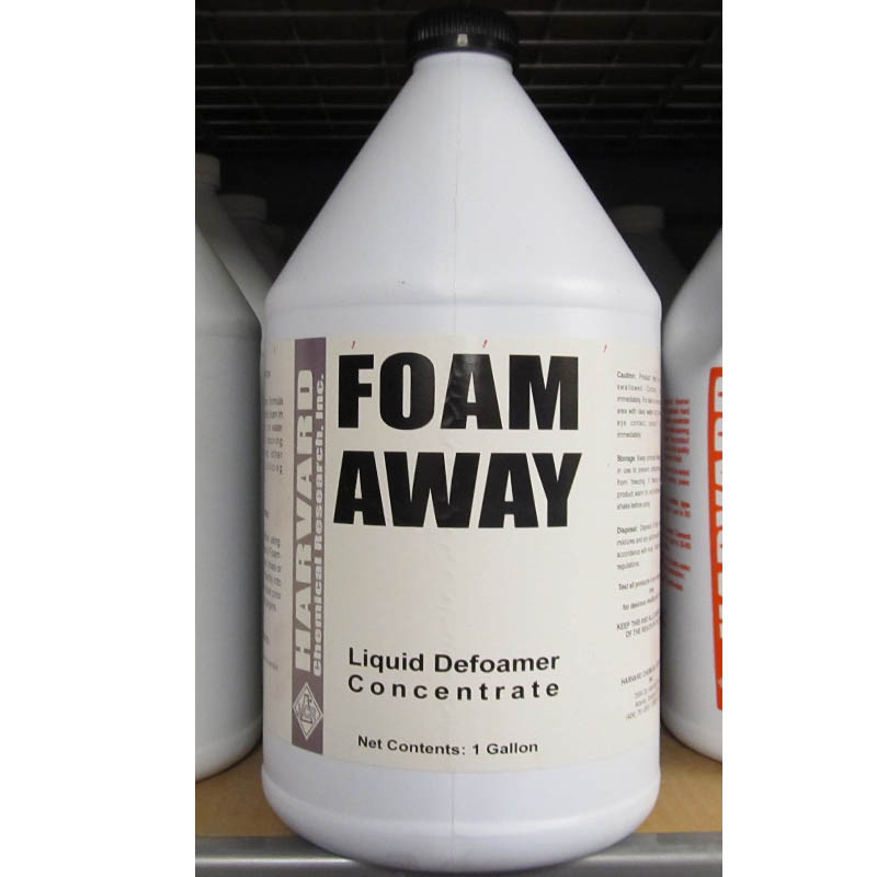 Harvard Chemical 511-4 Foam Away - Silicone Emulsion Defoamer - 4/1 Gallon Case