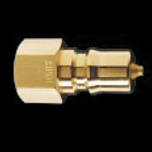 Foster FK2B Bretco 1/4in Male Brass Quick Disconnect QD Nipple Plug Coupler
