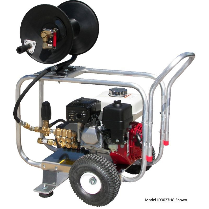 Pressure Pro JD3024HG Gasoline Pro Jet Sewer Jetting Drain Cleaning Machines