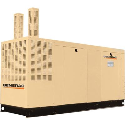 Generac: Commercial Series Liquid-Cooled Standby Propane Generator 150 kW, 277/480 Volts, LP, Model# QT15068KVAC
