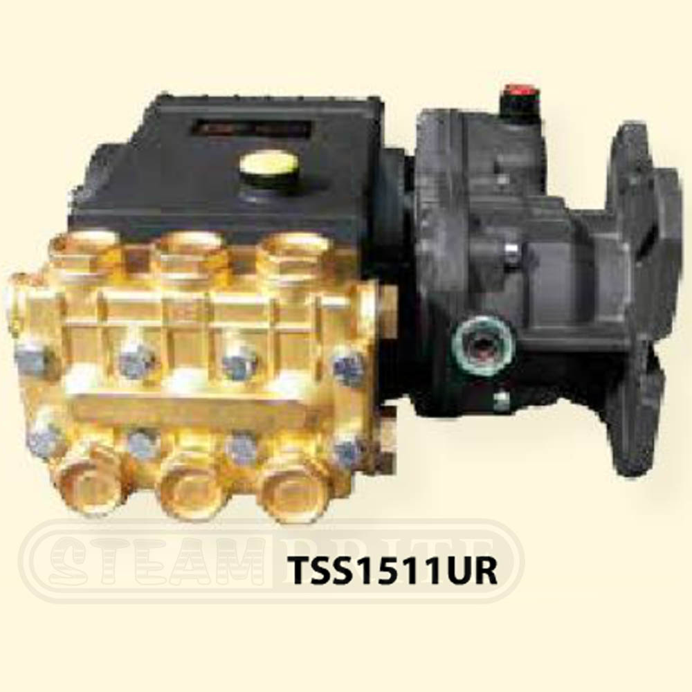 General Pump TSS1511UR Gear Reduced Triplex Plunger Pump 3500psi 1450rpm 4gpm Freight Included