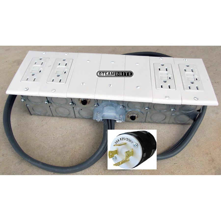 generator converter box electrical converter 240 volt 4 wire prong 30 amp l14 30p to 115,