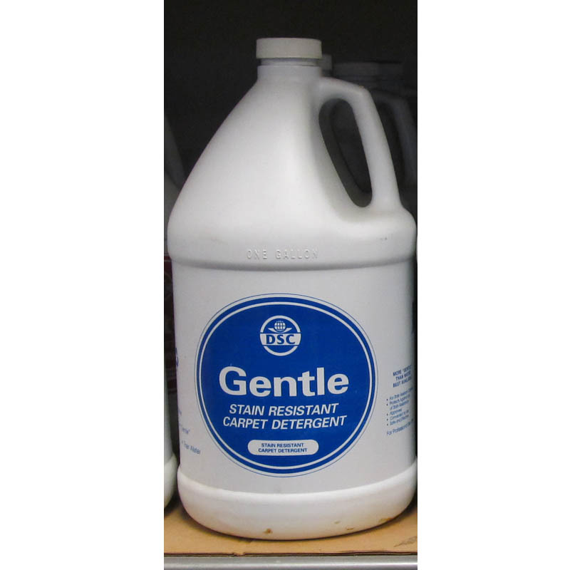 DSC Products Gentle New Generation Carpet Detergent For stain-resistant-carpet 2 Cases/8 Gallons