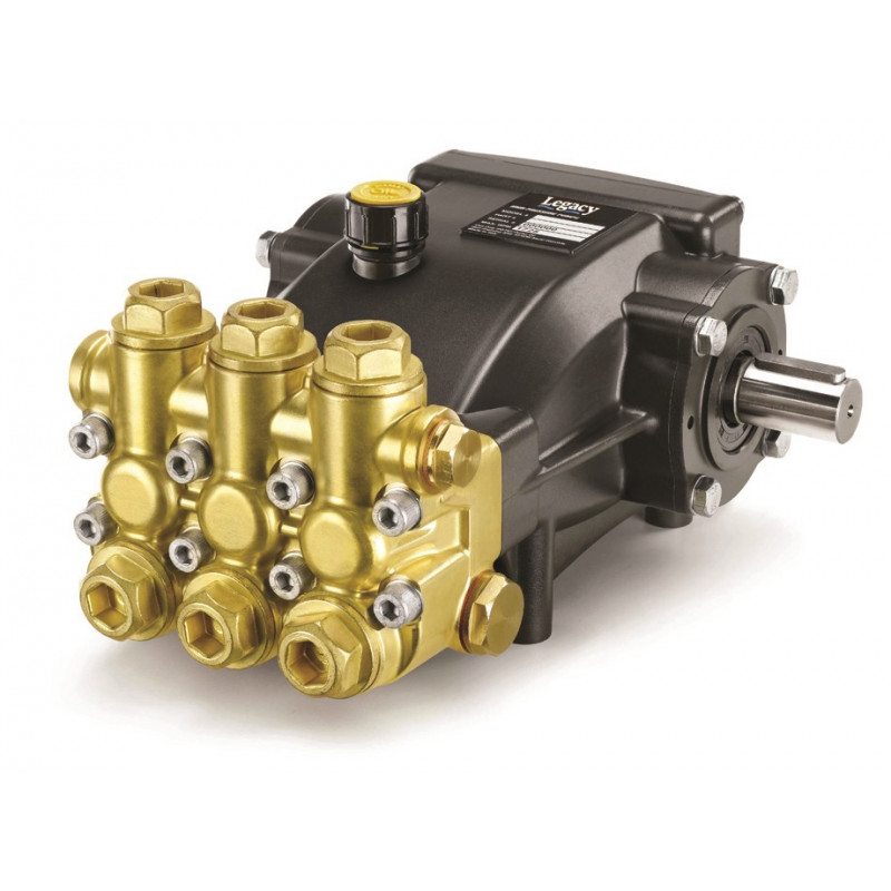 Shark Legacy High Pressure Pump GM3540R.2 3.5gpm 4000psi 9.5HP 1850rpm 24mm 8.904-943.0  8.751-197.0