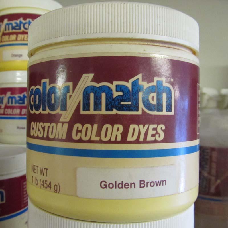 Color match carpet dye golden brown 1lb d20 1d - What colors match with brown ...