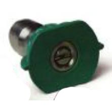 Pressure Washer Green Nozzle Ss 1/4in 10 X 25 Degree Q-Style - 8.708-707.0 - 259677
