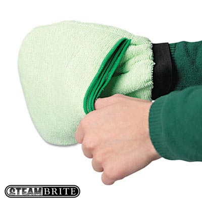 Clean Storm Microfiber Vapor Mitt with 10 Surfaces - Flip and Go Case of 12 [070363247831]