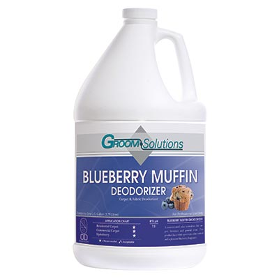 Groom Solutions Blueberry Muffin Deodorizer Carpet & Fabric Deodorant CD521GL Gallon 1693-2384