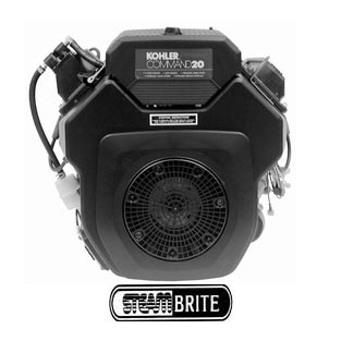 Kohler 20.5Hp Command Pro Horizontal Engine Electric Start CH20S PA-CH640-3147 Mi-T-M Pressure Washers