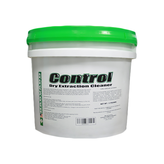 Harvard Chemical 400518 Control Dry Cleaning Absorbent Powder Carpet Cleaner Compound 15 lbs