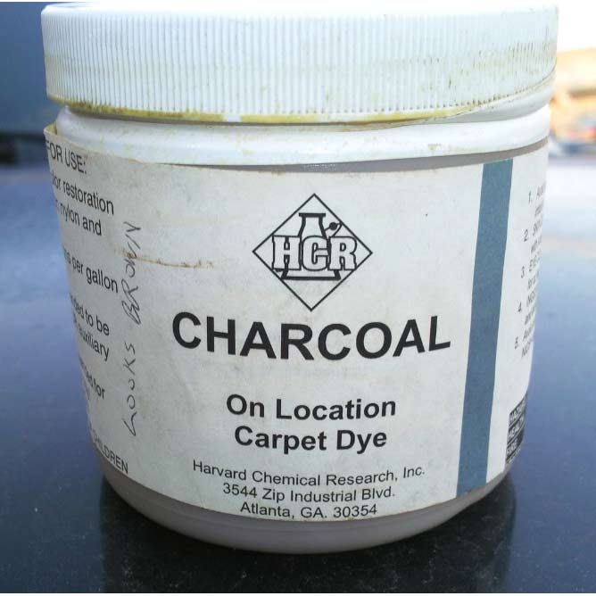 HCR Charcoal Powder Carpet Dye 1 lbs (25% off) Limited Stock