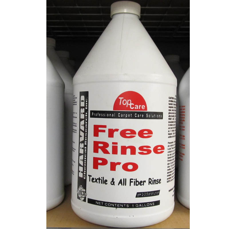 Harvard Chemical Free Rinse Pro - Carpet Rinsing Agent - 1 Gallon