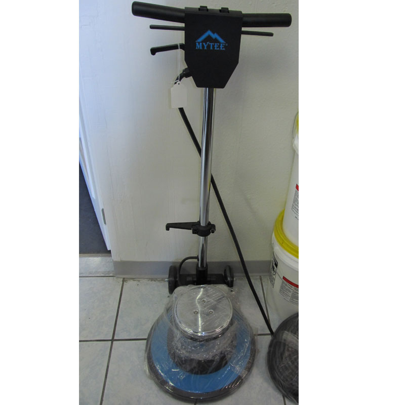 Mytee hd17 230v 17 inch floor machine 1 5hp 175 rpm 230 for 15 inch floor buffer