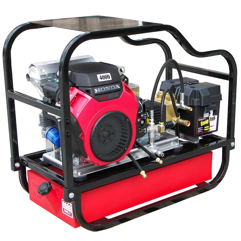 Pressure Pro HDCV5540HG 4000psi 5.5 gpm Honda GX630 Cold Pressure Washer 15 gallon Fuel Tank Skid Half Price Shipping