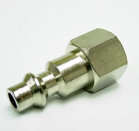 Heat Seal D2F2 Duct Cleaning Standard Air Line Fittings 1/4in Male Plug X 1/4in Fip Fitting