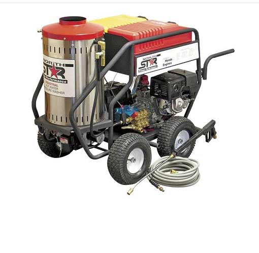 Northern Tool 157310 NorthStar Hot Water/Steam pressure washer FREE Shipping Wet Steam 4 gpm 3000psi