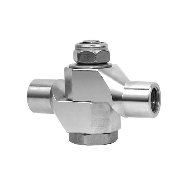 High Pressure Toggle Swivel 1/4 NPT Adjustable And Lockable 20181114