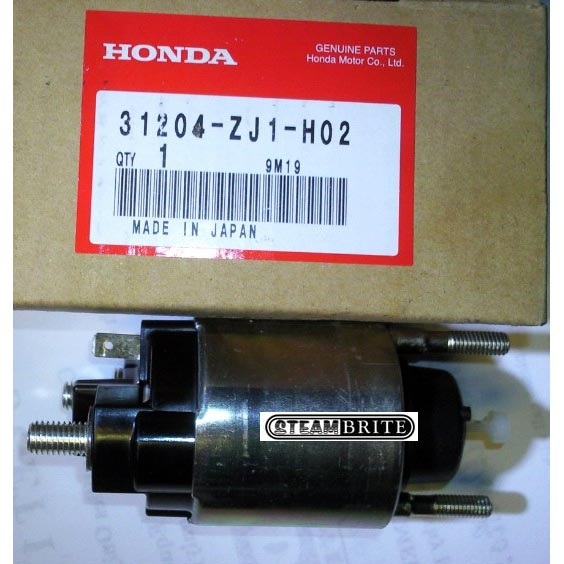 Honda 31204-ZJ1-H02; Switch Assembly Magnet Solenoid for Starter