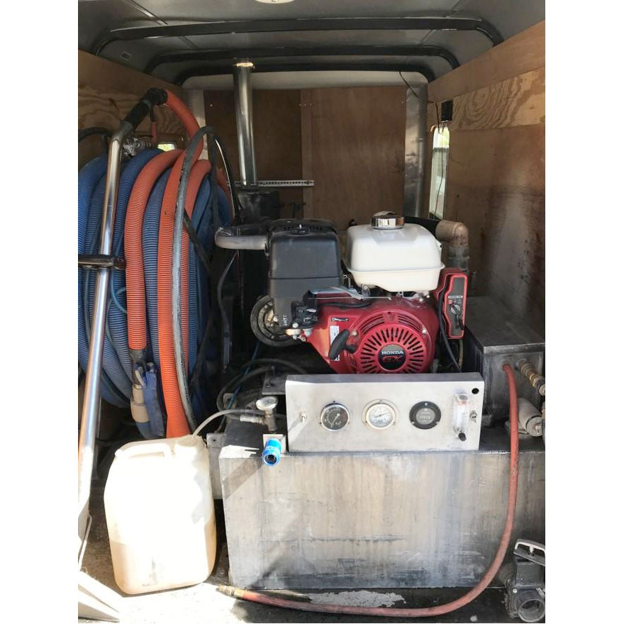 Used 5X8 Trailer Truckmount Little Giant Heater Propane System 55 Gallon Fresh Tank 75 Gallon Recovery $5500 OBO 202000629