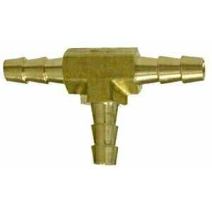 Hose Barbed Brass Tee 1/4in 32365  8.705-245.0  HBT2-4