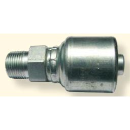 Hydraulic Hose Crimp Fitting 1/2in Hose X 3/8in Mpt Solid Rigid 8.724-248.0 8G-6MP