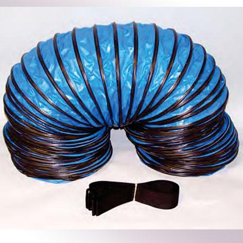 Air Care: Hose, Heavy Blue 12 in x 25 ft w/Strap Collar