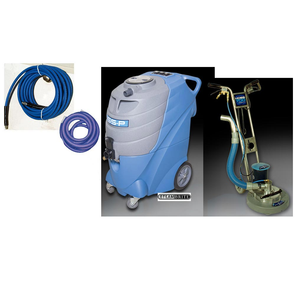Sapphire Scientific 78-001 VersaClean P200 200psi Dual 2 Stage Vacs Hoss 700 Starter Package