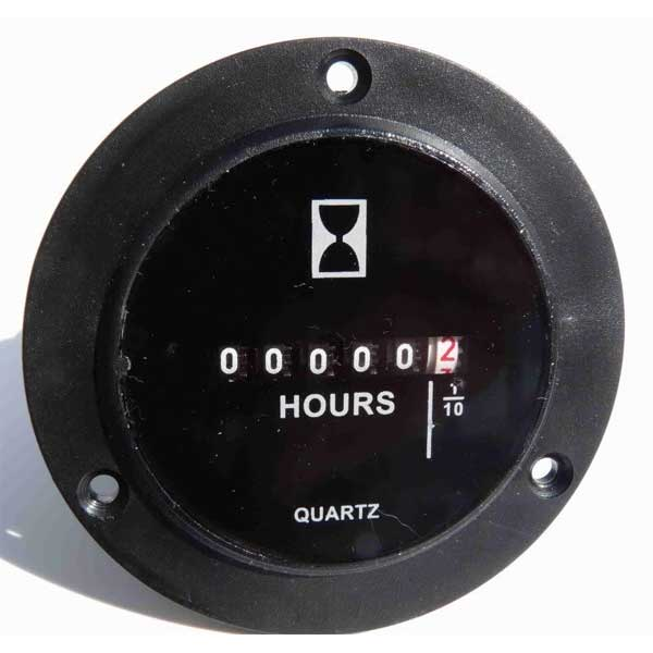 Clean Storm 120 Volt Hour Meter Panel Mount (self install) SBM3AE11