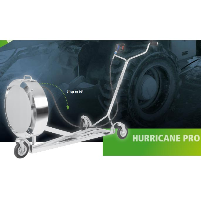 Mosmatic Hurricane Pro Undercarriage and Wheel CleanerHURp-520  80.617