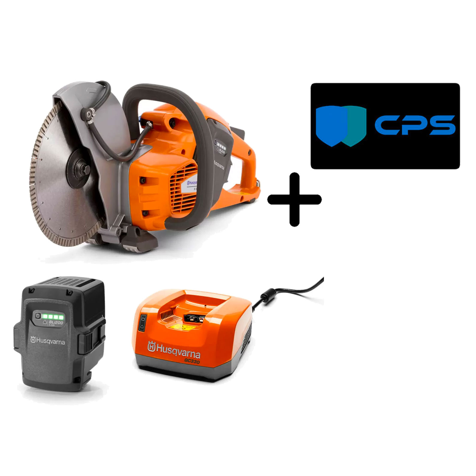 Husqvarna K535i Battery Power Cutter XP Bundle 967795903 Saw Battery Blade Charger Warranty Freight Package K 535i 77206678