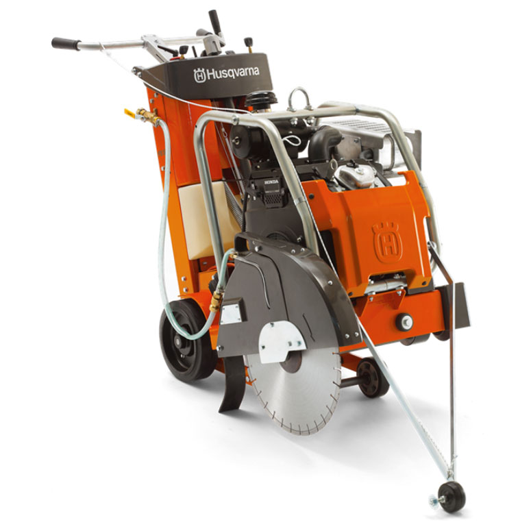 Demo Husqvarna FS524 Concrete Floor Flat Saw Used FS 524 Honda 20.8Hp 24 Inch Blade 967046103A A Rated