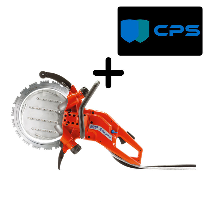 Husqvarna K3600MK II Concrete Lightweight Power Cutter PLUS 3 Yr Warranty Bundle 49904295 Freight Inc