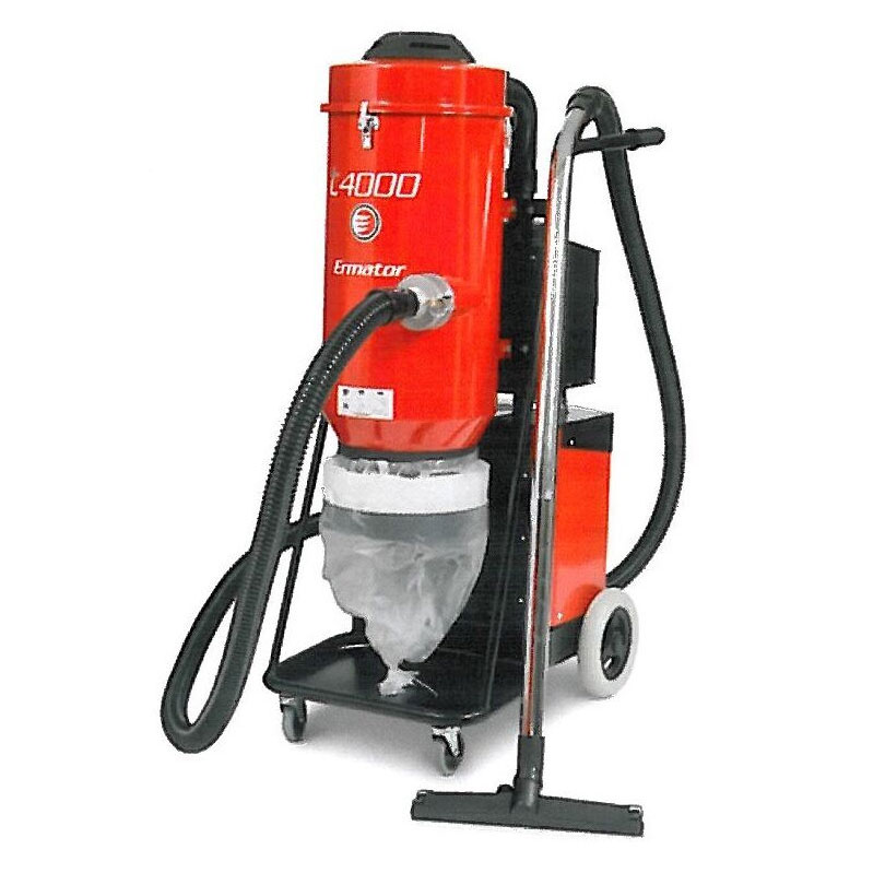Demo Husqvarna Pullman Ermator T4000 Hepa Dust Slurry Concrete Vacuum 967759701A 240V 3Phase 280Cfm Dust Collector Used T 4000