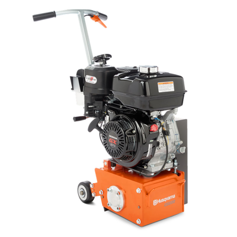 Demo Husqvarna CG 200 Scarifier Floor Grinder 8.4 Hp Gas 20.9 Inches Wide Used CG200 [967662302A]  967 66 23-02 A Rated