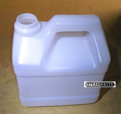 HydroForce AS30 Injection Sprayer Empty Un-Marked Blow Molded Plain 5 Qt Sprayer Jug with Solid Cap - MP-UH18-EA - PR110 - 1G