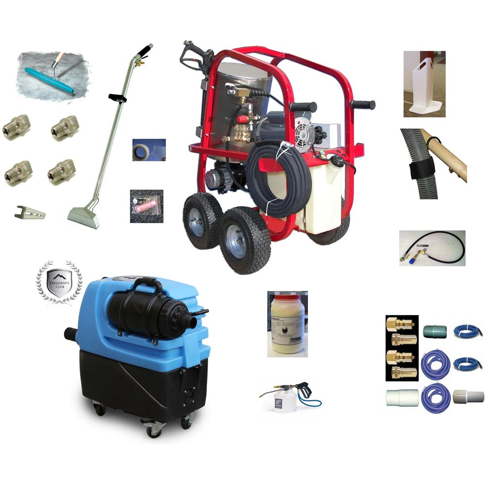 Hydrotek HV13002E1H Pressure Washer Steamer Plus Mytee 7300 Carpet Cleaning Starter Package 115 volt 1300psi FREE Shipping