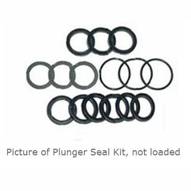 Hypro Pump: Seal Kit 3430-0493 for 2300B-P Series Pumps 2345b-p and others (no cups)