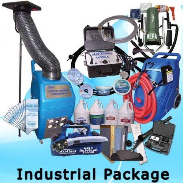 Air Care Industrial Package Start Air Duct Cleaning Business